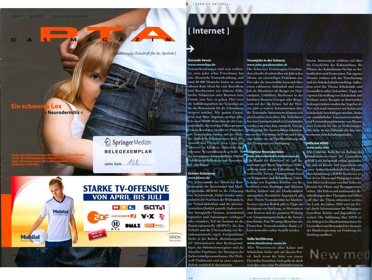 PTA Magazin, April 2010