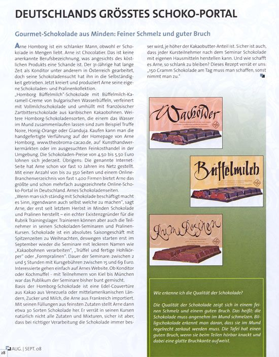 Wittekind Magazin, August / September 2008