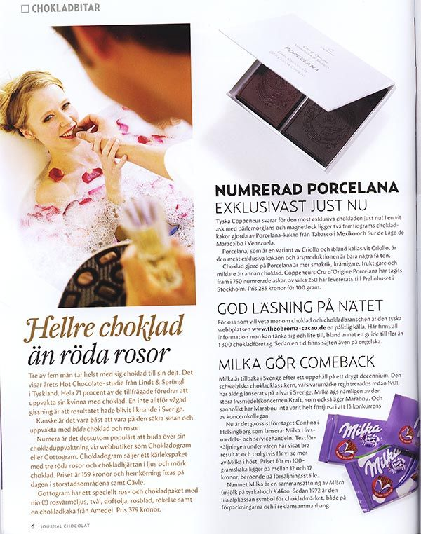 journal chocolat, 2/2008