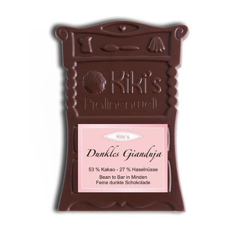 Kiki's Dunkles Gianduja - Bean to Bar