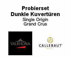 Probierset Dunkle Kuvertüre Single Origin - Grand Cru
